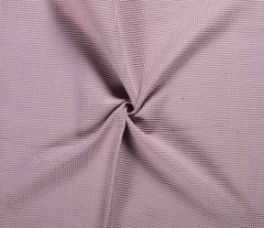 Cotton Waffle Fabric | Old Pink
