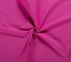 Cotton Waffle Fabric | Fuchsia