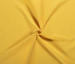 Cotton Waffle Fabric | Ochre