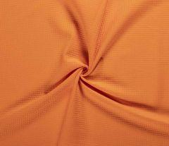 Cotton Waffle Fabric | Orange
