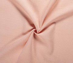 Cotton Waffle Fabric | Salmon