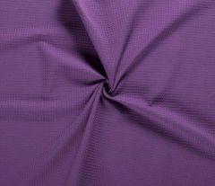 Cotton Waffle Fabric | Light Purple