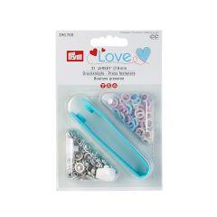 8mm Pastel, Jersey Ring Press Fasteners & Tool   Prym Love