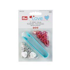 8mm Hots, Jersey Ring Press Fasteners & Tool   Prym Love