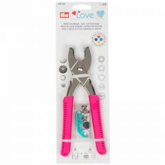 Prym Love Vario Pliers for Snap Fasteners - Pink | Empress Mills Sewing