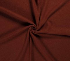 Boiled Wool Fabric | Terracotta