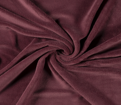 Plain Supersoft Fleece | Rich Burgundy