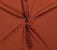 Plain Cotton Rich Jersey | Terracotta