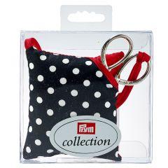 Pin Cushion & Scissors, Polka Dot   Prym