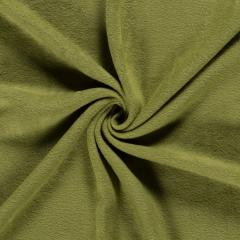 Anti Pil Fleece Fabric - Stretch   Light Khaki