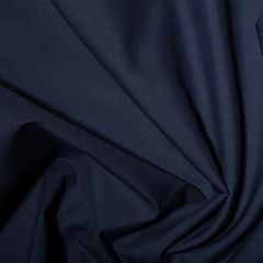 Classic Polycotton Fabric   French Navy