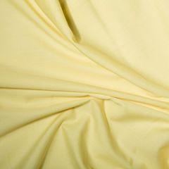 Classic Polycotton Fabric   Lemon
