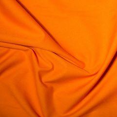 Classic Polycotton Fabric | Tangerine
