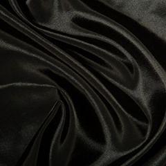 Plain Shot Taffeta Fabric   Black