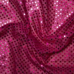 Sequin Fabric 3mm | Cerise