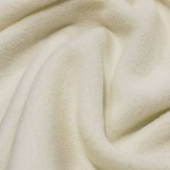 Micro Fleece Plain Fabric | Cream