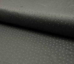 Suede Fabric 3D Embossed   Dark Grey