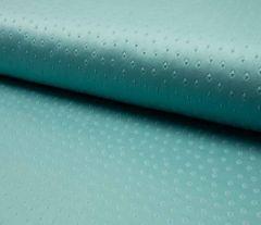 Suede Fabric 3D Embossed   Dusty Ocean