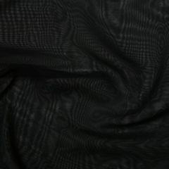 Japanese Premium Chiffon Fabric   Black