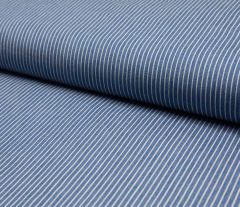 Jacquard Weave Denim Fabric | Mid Stripe Light Jeans