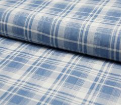 Denim Fabric | Multi Check Light Jeans