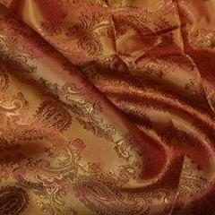 Paisley Jacquard lining Fabric | Colour 19