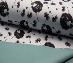 Soft Shell Fleece Fabric | Subtle Dandelion
