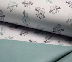 Soft Shell Fleece Fabric | Subtle Sloth