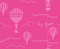 Stuart Hillard's Hot Air Balloon   Pink Balloons