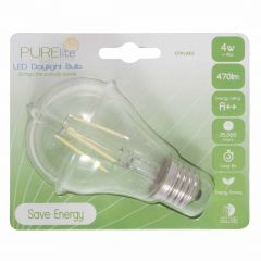 LED Natural Daylight Blub - 4w Screw Fitting