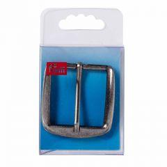 Belt Buckle, 40mm - Silver | Prym