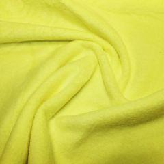 Anti Pil Polar Fleece Plain | Flo Yellow