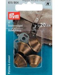 Bag Base Studs | Antique Brass 20mm | Prym