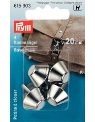 Bag Base Studs | Silver 20mm | Prym