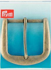 Belt Buckle, 40mm - Antique Brass | Prym