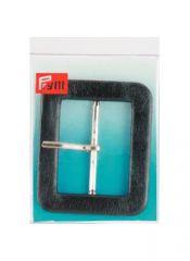 Belt Buckle, 40mm - Black | Prym