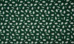 Jersey Cotton Fabric | Christmas Acorns