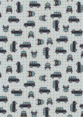 City Nights Fabric   Black Cab Copper