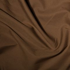 Classic Polycotton Fabric | Brown