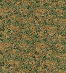 Cork Fabric Print | Daisy Meadow Green