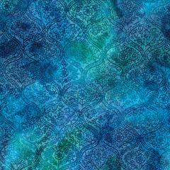 Batik Fabric Design Damask