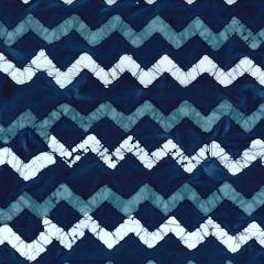 Batik Fabric Design Zig Zag