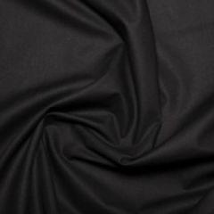 Cotton Sheeting Fabric | Black