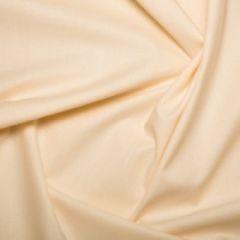 Cotton Sheeting Fabric | Cream