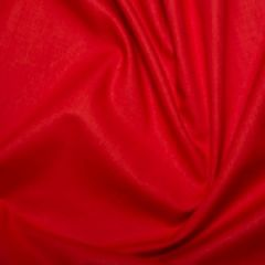 Cotton Sheeting Fabric | Red