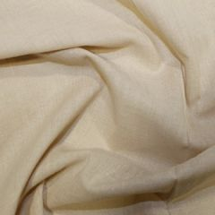 Cotton Voile Fabric   Standard, Beige