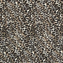 Crepe Georgette Fabric   Animal Print Classic