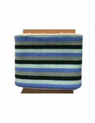 Cuffs Three 5mm Stripe | Bold Blues