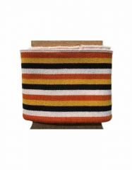 Cuffs Three 5mm Stripe | Bold Autumn Hues