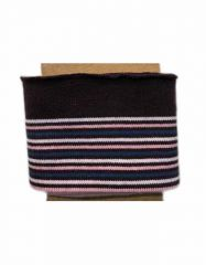 Cuffs Border Multi Stripe | Pink & Blues